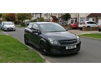 Vauxhall Astra H 1.9 CDTI 150 SRI Sport Coupe hatchback Turbo Diesel VXR wheels. Lowered, Modified