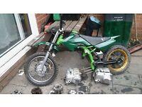 pit bike frame/ parts