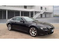 2005 BMW 6 SERIES 645 CI 4.4 PETROL AUTOMATIC COUPE SPORTS POWERFUL FAST BLACK NO CLS TT 650 630 335