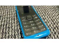 nokia 105 unlocked - blue version