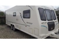 Bailey Olympus 624 2010 lovely condition twin axle full serviced new tryes