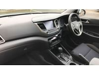 HYUNDAI TUCSON 1.7 CRDi Blue Drive SE 5dr 2WD DCT (white) 2017