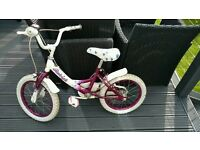 Girls Raleigh bike 16 inch wheels