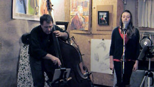 Elegant Live Music at your Wedding Vocals and Upright Bass