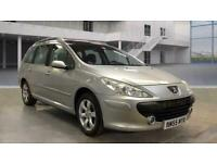PEUGEOT 307 SW 1.6 HDI ESTATE [PANROOF] + LEFT HAND DRIVE LHD + 1OWNER + V CLEAN