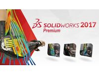 SolidWorks 2017 Premium Full Version 64bit PC Only