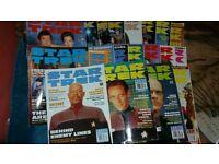 Star Trek magazines bundle - missing posters.