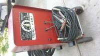 LINCOLN STICK WELDER/50 FT CABLE