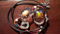 **New** Bug Jewelry Jewellery bracelet ring necklace set