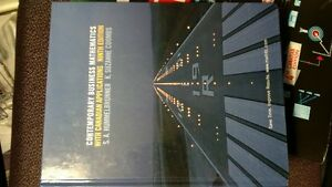 Contemporary Business Mathematics with Can. Applications 9th Ed