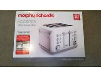 Morphy Richards - Accents (Toaster) White