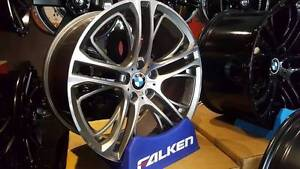 BMW X5 X6 SILVER 20INCH WHEELS Fawkner Moreland Area Preview