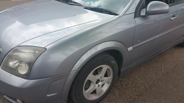 Vauxhall Vectra N/S Wing In Grey Colour Code: 163 (2005)