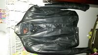 Men's Bristol leather motorcycle jacket