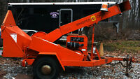4 cylinder Diesel  Altec D-12 Whisper Wood Chipper