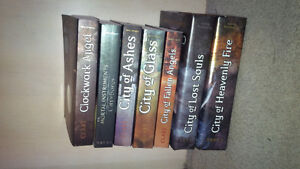 Selling the Mortal Intrument series , paperback and hardcover