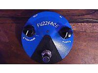 NEAR NEW DUNLOP BLUE FUZZ FACE EFFECT PEDAL