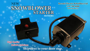 Snowblower Starter Motor - Available
