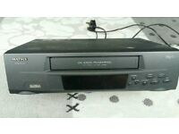 Matsui VHS video player with remote control