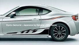 86 Body Stripe Tape Decal (Type-1) for Toyota GT86