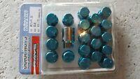 Rays duralumin lug nuts m12xp1.25 35mm short  blue brand new
