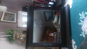 wood mirror  new  still in the box size 48 w x 44 London Ontario image 3