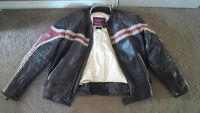 Unbelievable FIRST RACING Motorcycle jacket. Barely worn...Large
