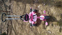 Mini Traxx pink toddler tricycle