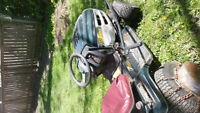 riding lawn mower without deck