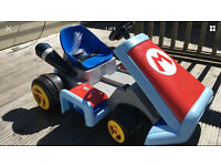 Mario Kart 6v ride on car with sounds