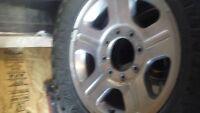 2007 Aluminumf-350 Superduty wheels and Toyo Tires