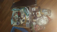 HUGE TANDY LEATHER LOT