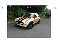 2003 Mini One 1.4 Diesel Gold 92500 Miles - 12 Months MOT - Ideal First Car - Cooper S Styling