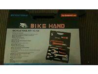 Bike Hand Bicycle Tool Kit Never used RRP £69!