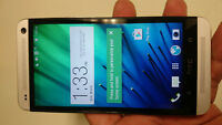 Unlocked HTC One M7 32GB with Case