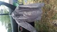 Bench jacket for men size small