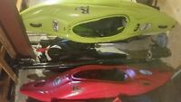 2 Booster (50&60) Kayaks (REDUCED IN PRICE BY $100)