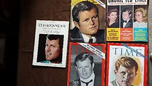 Lot#243- KENNEDY Mags 1968-69 Total of 5..Purging House