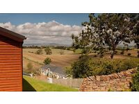 **DO NOT MISS** wooden lodge for sale 12 month park