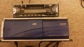 JVC Radio KS-FX222 with JVC 12CD Changer CH-X560