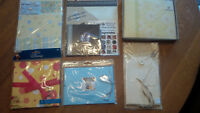 Lot Scrapbook mini-albums - brand new in package