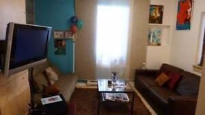 Bel appartement meublé, jardin, rez-de-chaussée