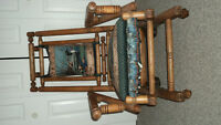 Antique  Spring Rocking Chair