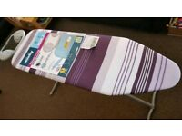 MINKY Classic T Leg Ironing Board 110 x 35cm, White NEW (slight defect)