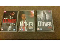 Luther Box Set Series 1, 2 & 3 DVD As New Condition