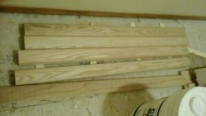 Oak Railing  Cutoffs  5 pieces 40 inches long    $10 each