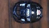 Youth Black Hockey Helmet
