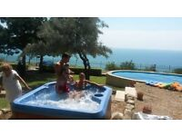 lovely villa with a privat pool and jacuzzi ,amazing sea viewBlack Sea,Albena,Bulgaria
