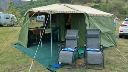 Cavalier Camper Trailer - great for weekend getaway or longer