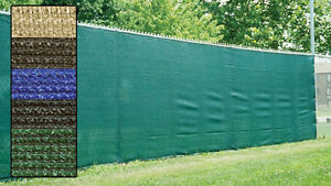 Fence Privacy Screen Cover Mesh Windscreen Fabric Slat